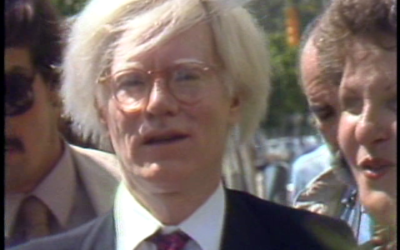 Andy Warhol's Visit to South Beach